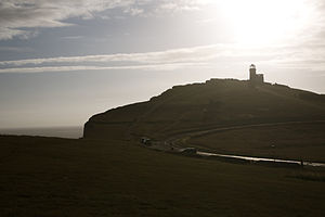 Belle Tout lighthouse - Image: Belle Tout Lighthouse View From East Far