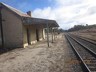 Ben Bullen, New South Wales - Ben Bullen railway station in 2011