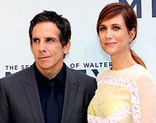 Ben Stiller e Kristen Wiig all'anteprima australiana del film.