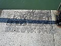 Benchmark on the east pier, Ramsgate - geograph.org.uk - 155937.jpg