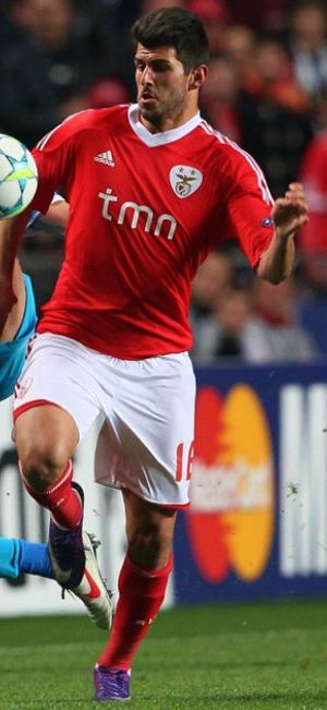 Nélson Oliveira - Oliveira playing for Benfica against Zenit in the Champions League, 2012