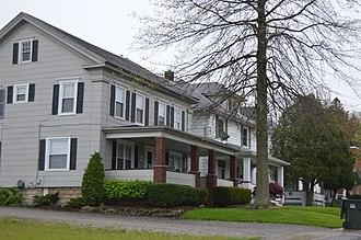 Hubbard, Ohio - Houses on Bentley Street