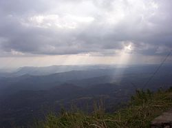 View from Haputale-Beragala gap