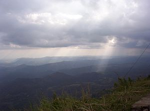 Uva Province - View from Haputale-Beragala gap