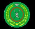 Beret and cap badge of the Somaliland National Army.png