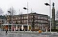 Bergen - Telegrafbygningen fra Festplassen i desember.jpg