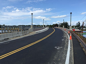 Dighton, Massachusetts - New two-lane bridge, opened August 2015