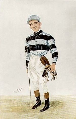 Lemberg (horse) -  Bernard Dillon who rode Lemberg to his Derby win