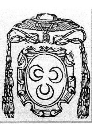 Bernardino Lunati - Coat of arms of Cardinal Bernardino Lunati.