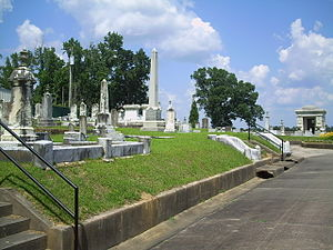 National Register of Historic Places listings in Lauderdale County, Mississippi - Image: Beth Israel Cemetery
