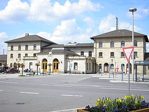 German railway station categories - Lichtenfels (category 3)