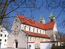 Biburg Lkr Kelheim ehem Klosterkirche.JPG