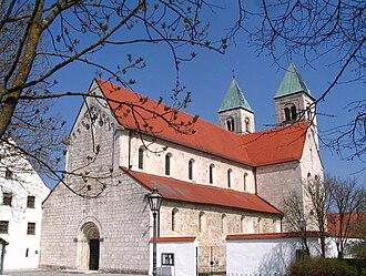Biburg - Former monastery Church of Immaculate Mary