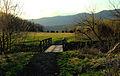 Big Oak Trail footbridge close up (6872782536).jpg