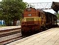 Bijapur-Bolarum-HYD Passenger at Ammuguda 01.jpg