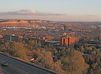 Montana State University Billings - The main Campus of Montana State University Billings sits at the base of the Rimrocks