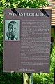 Bio of W.H. Auden in front of his house, Kirchstetten.jpg