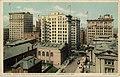 Bird's-eye view of business district, Kansas City, Mo. Fred Harvey series. (NBY 21319).jpg