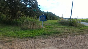 Mississippi Blues Trail - Image: Birthplace Of BB King Mississippi Blues Trail Marker