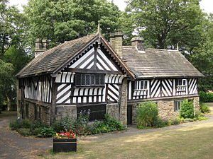 Buildings and structures in Sheffield - Bishops' House., built c.1500