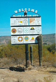 Black Canyon City, Arizona CDP in Arizona, United States