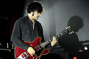 Peter Hayes (musician) - Peter Hayes (BRMC) at Metropolis Fremantle (2010)