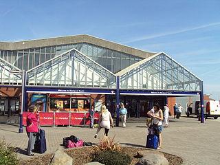 Blackpool North railway station Railway station in Lancashire, England