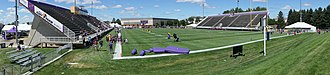 Blakeslee Stadium - Blakeslee Stadium is located in the south of campus and is the home field of the Minnesota State Mavericks Division 2 Football team.