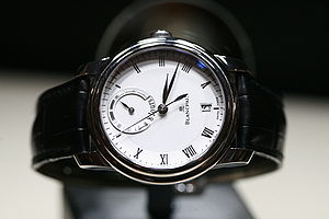 Blancpain - Blancpain watch with 8-day power reserve.