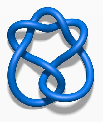 Stevedore knot (mathematics) - Image: Blue Stevedore Knot