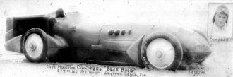 Napier-Campbell Blue Bird - Image: Bluebird land speed record car 1928 n 041928