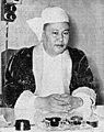 BoHmuAung ဗိုလ်မှူးအောင် San Hlaing စံလှိုင် SpeakerHouseDeputies-Burma ca1955.jpg