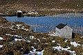 Boathouses at Loch nam Freumh - geograph.org.uk - 1033956.jpg