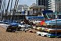 Boats on Brighton Beach, Sussex - geograph.org.uk - 2413882.jpg
