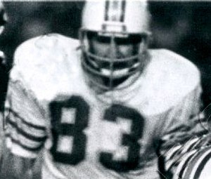 Vern Den Herder - Den Herder playing for the Dolphins in 1979