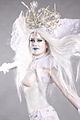 Bodypainted Snow Queen (10508945396).jpg