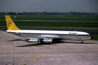 Condor (airline) - Condor Boeing 707-300 in 1978