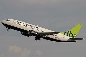 DBA (airline) - DBA Boeing 737-300