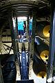 Boeing B-17G-85-DL Flying Fortress Nine-O-Nine Interior Bomb Bay CFatKAM 09Feb2011 (14797382067).jpg