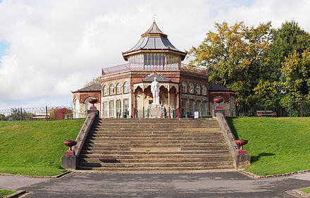 The Boer War memorial in Mesnes Park Boer War Memorial Wigan.jpg