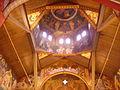 Bonn Griechisch-Orthodoxe Kathedrale Agia Trias Innen Kuppel 1.JPG