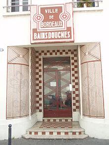 Quartier de la bastide wikip dia - Bains douches municipaux ...