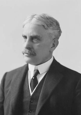 Military history of Canada during World War I - Sir Robert Borden was the leader of Canada during First World War