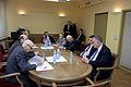 Boriss Cilevičs tiekas ar Izraēlas Valsts ārlietu ministra vietnieku (5689384877).jpg