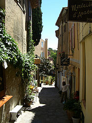 Street in Bormes-les-Mimosas