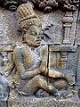 Borobudur - Divyavadana - 088 N, The Landing of Bhiru and foundation of Bhiruka (detail 1) (11705692335).jpg