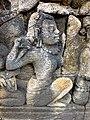 Borobudur - Divyavadana - 111 E, Maitrakanyaka meets with thirty-two Nymphs (detail 1) (11705329754).jpg