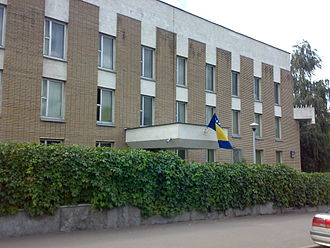 Bosnia and Herzegovina–Russia relations - Embassy of Bosnia and Herzegovina in Moscow
