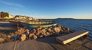 Bouzigues - Shore of the Étang de Thau