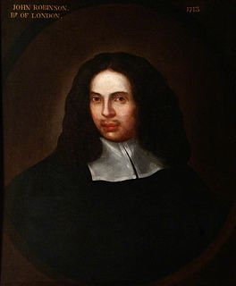 John Robinson (bishop of London) English diplomat and prelate, born 1650